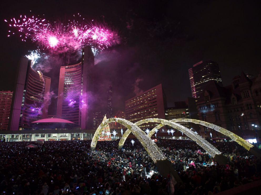 New Year Eve in Toronto
